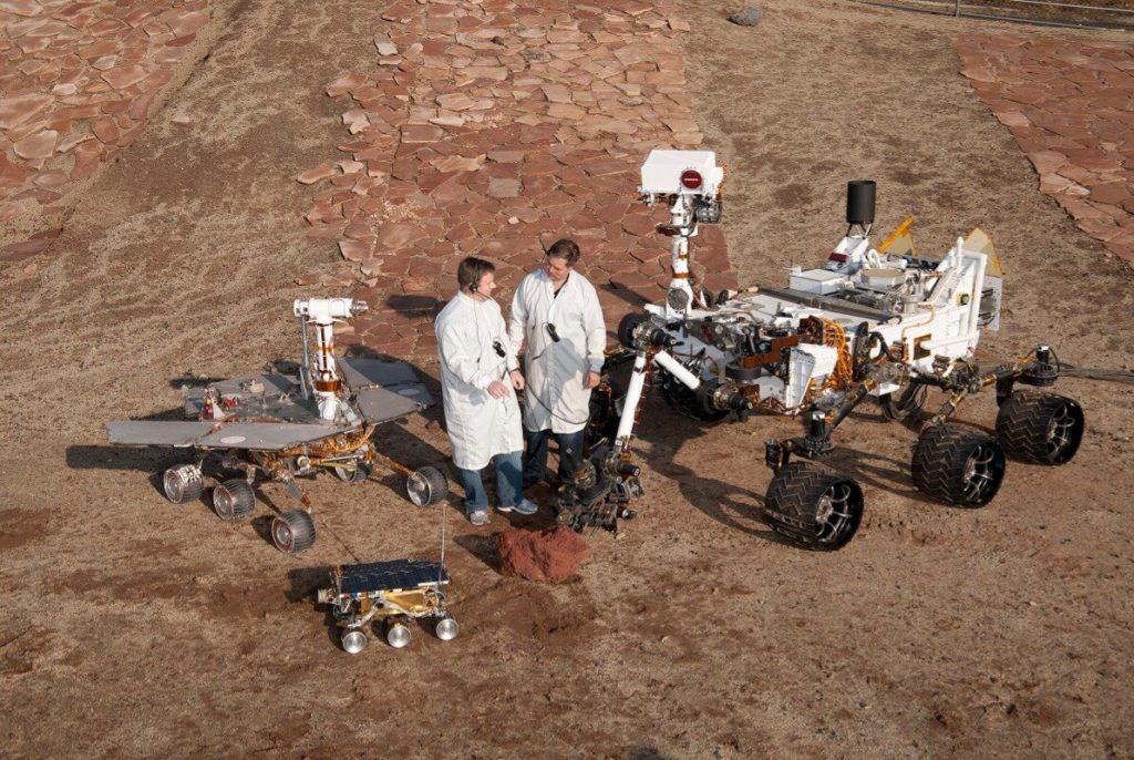 История посещений Марса