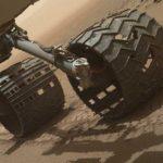 Необычные колеса марсохода Curiosity