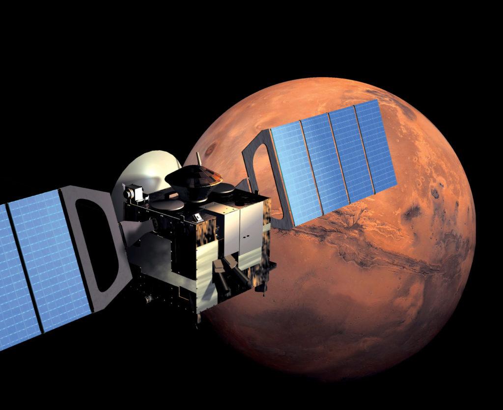 Искусственные спутники Марса