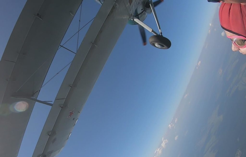 Выше облаков - прыжок с парашютом