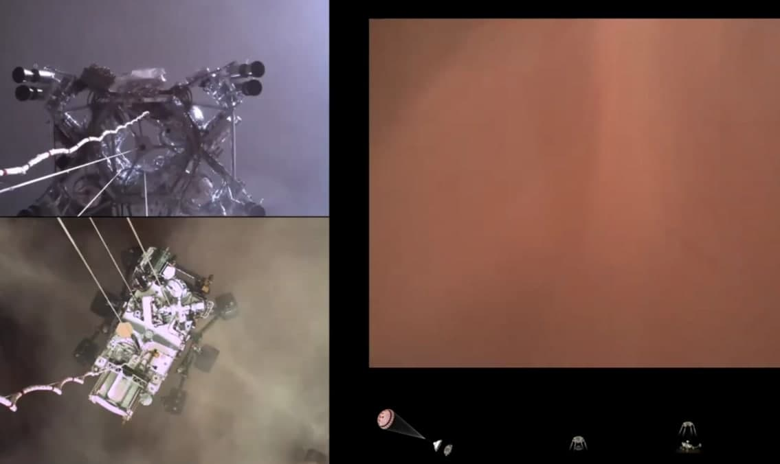 """""""Марс 2020"""" или первый полёт в пределах атмосферы Марса"""